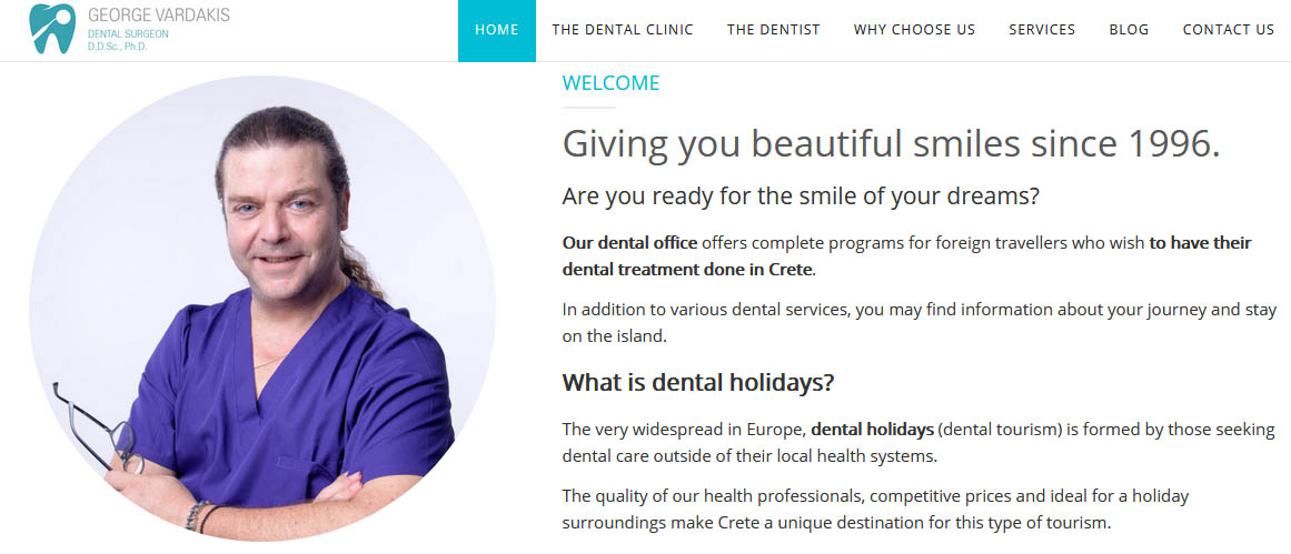 Dental Holidays on Crete Island