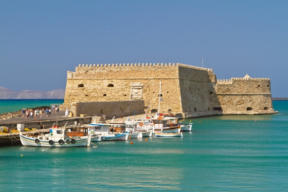 Heraklion Town on Crete