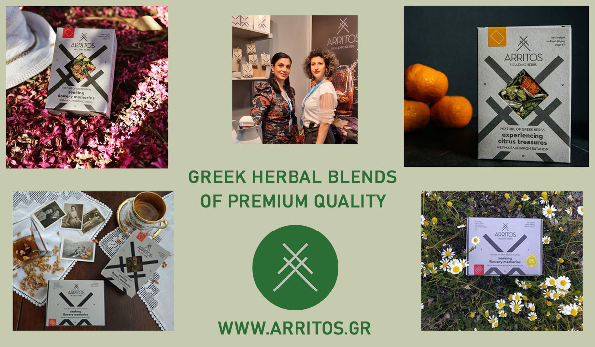Arritos Greek herbal tea blends